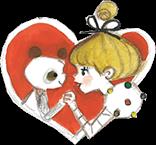 黒柳徹子(トットちゃん)とパンダ