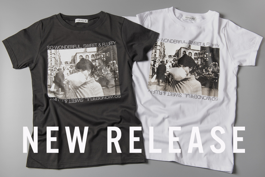 新商品:綿あめTシャツとトートバッグ
