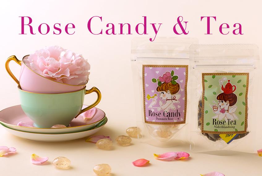 Rose Candy & Tea